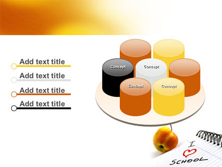Loving School PowerPoint Template Slide 12