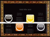 Gold Pressing PowerPoint Template#18