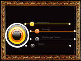 Gold Pressing PowerPoint Template#3