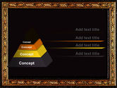 Gold Pressing PowerPoint Template#4