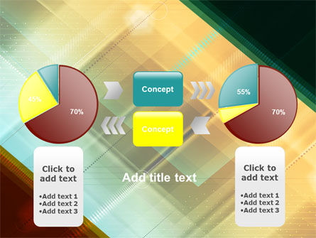 Abstract Color Design PowerPoint Template Slide 11
