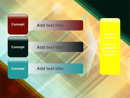 Abstract Color Design PowerPoint Template Slide 12