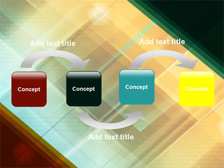 Abstract Color Design PowerPoint Template Slide 4