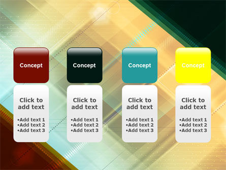 Abstract Color Design PowerPoint Template Slide 5