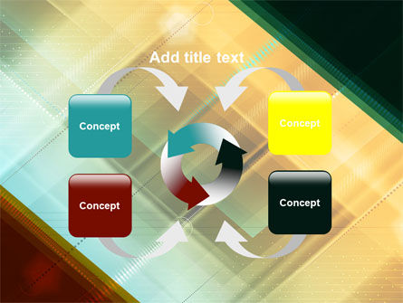 Abstract Color Design PowerPoint Template Slide 6