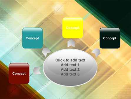 Abstract Color Design PowerPoint Template Slide 7