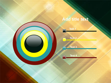 Abstract Color Design PowerPoint Template Slide 9