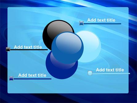 Blue Whirlpool PowerPoint Template Slide 10