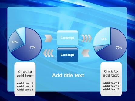Blue Whirlpool PowerPoint Template Slide 11