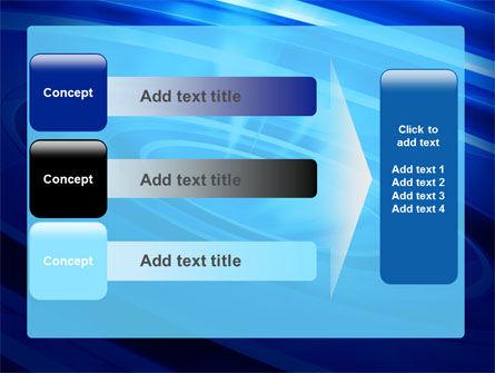 Blue Whirlpool PowerPoint Template Slide 12