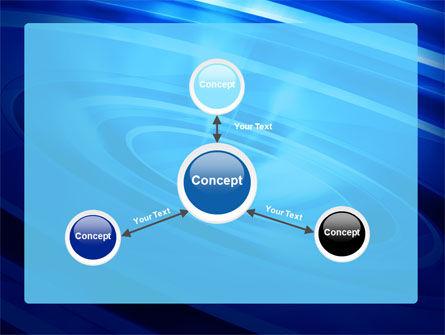 Blue Whirlpool PowerPoint Template Slide 14