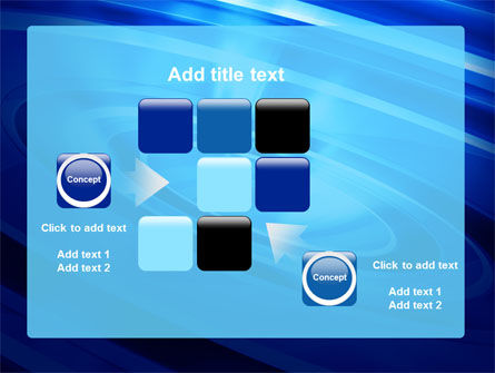 Blue Whirlpool PowerPoint Template Slide 16
