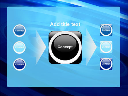 Blue Whirlpool PowerPoint Template Slide 17