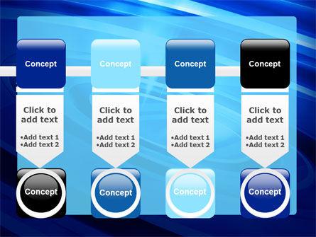 Blue Whirlpool PowerPoint Template Slide 18
