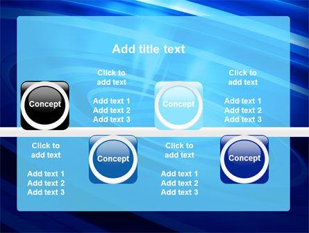 Blue Whirlpool PowerPoint Template Slide 19