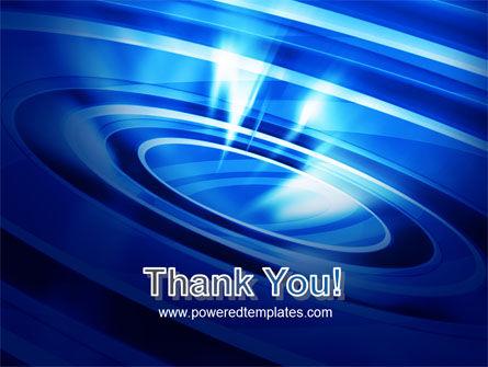 Blue Whirlpool PowerPoint Template Slide 20