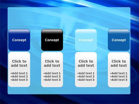Blue Whirlpool PowerPoint Template Slide 5