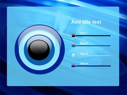 Blue Whirlpool PowerPoint Template Slide 9