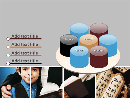 Judaism PowerPoint Template Slide 12