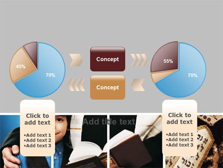 Judaism PowerPoint Template Slide 16