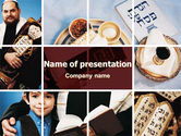 Holiday/Special Occasion: Judaism PowerPoint Template #06827