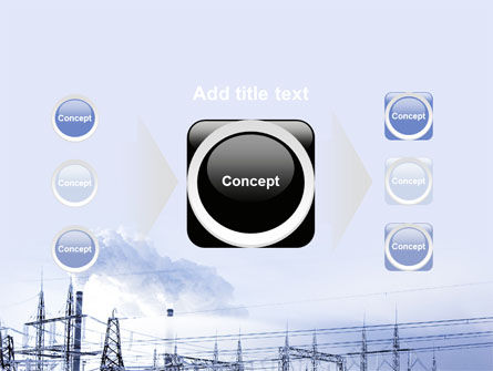 Snowcovered Power Line PowerPoint Template Slide 17