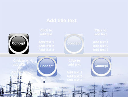 Snowcovered Power Line PowerPoint Template Slide 19