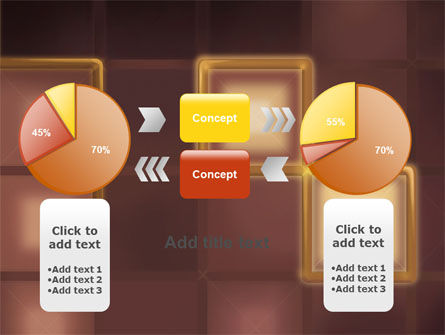 Yellow Boxes PowerPoint Template Slide 16
