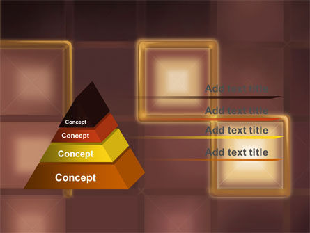 Yellow Boxes PowerPoint Template Slide 4