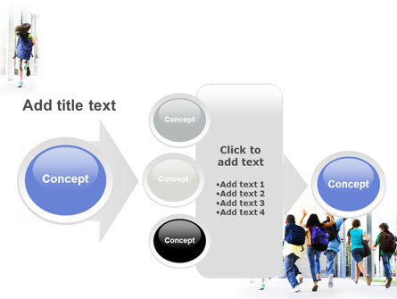 School Kids PowerPoint Template Slide 17