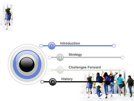 School Kids PowerPoint Template, Slide 3, 06830, Education & Training — PoweredTemplate.com