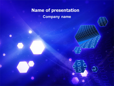 Technology and Science: Programming Solution PowerPoint Template #06831