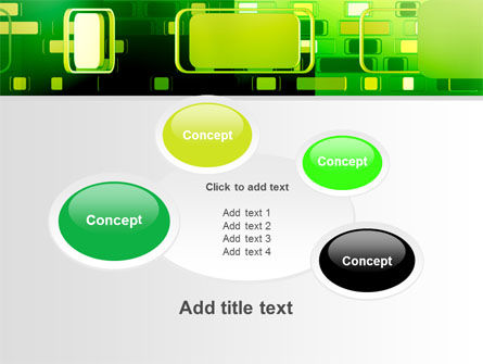Green Boxes PowerPoint Template Slide 16