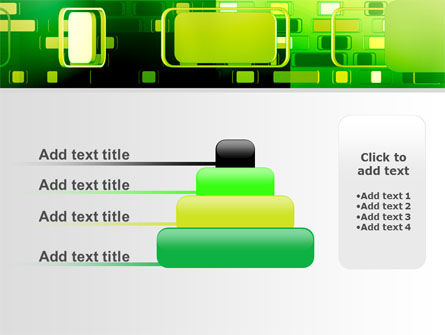 Green Boxes PowerPoint Template Slide 8