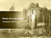 Education & Training: Siege PowerPoint Template #06834