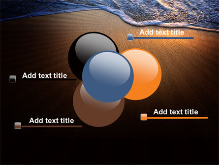 Sea Sand On The Sunset PowerPoint Template Slide 10