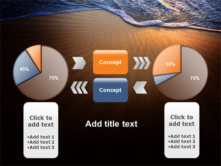 Sea Sand On The Sunset PowerPoint Template Slide 11