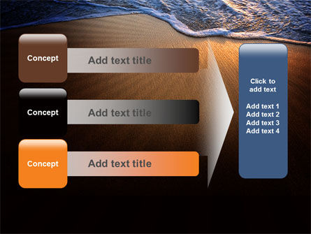 Sea Sand On The Sunset PowerPoint Template Slide 12