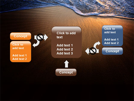 Sea Sand On The Sunset PowerPoint Template Slide 13