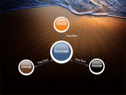 Sea Sand On The Sunset PowerPoint Template Slide 14