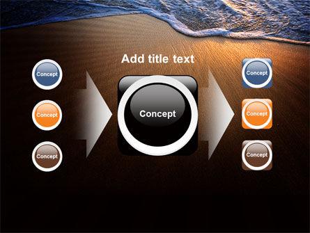 Sea Sand On The Sunset PowerPoint Template Slide 17