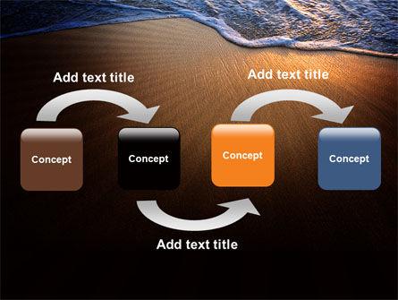 Sea Sand On The Sunset PowerPoint Template, Slide 4, 06835, Careers/Industry — PoweredTemplate.com