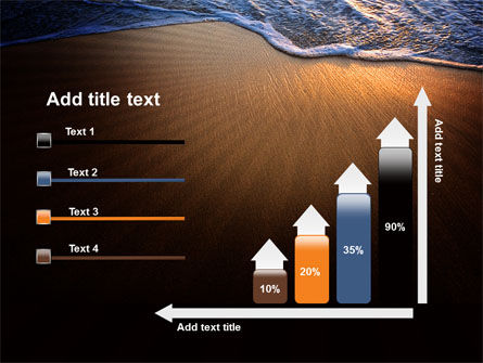 Sea Sand On The Sunset PowerPoint Template Slide 8