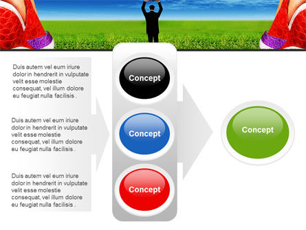 Golf Ball PowerPoint Template Slide 11