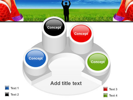 Golf Ball PowerPoint Template Slide 12