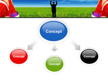 Golf Ball PowerPoint Template Slide 4