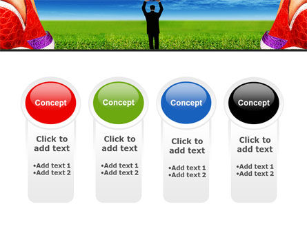Golf Ball PowerPoint Template Slide 5