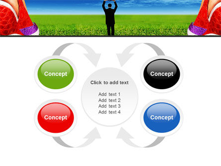 Golf Ball PowerPoint Template Slide 6