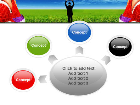 Golf Ball PowerPoint Template Slide 7