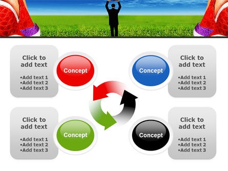 Golf Ball PowerPoint Template Slide 9